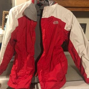 North Face 2 in 1 coat